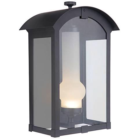 "Craftmade Montcrest 15 1/4""H Midnight LED Outdoor Wall Light"