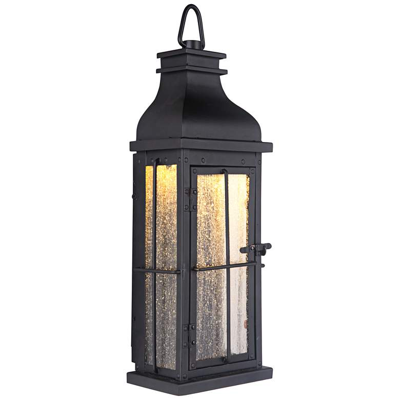 "Craftmade Vincent 17"" High Midnight LED Outdoor Wall Light"