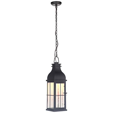 """Vincent 22 1/2"""" High Midnight LED Outdoor Hanging Light"""