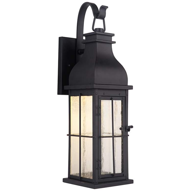 "Craftmade Vincent 24"" High Midnight LED Outdoor Wall Light"
