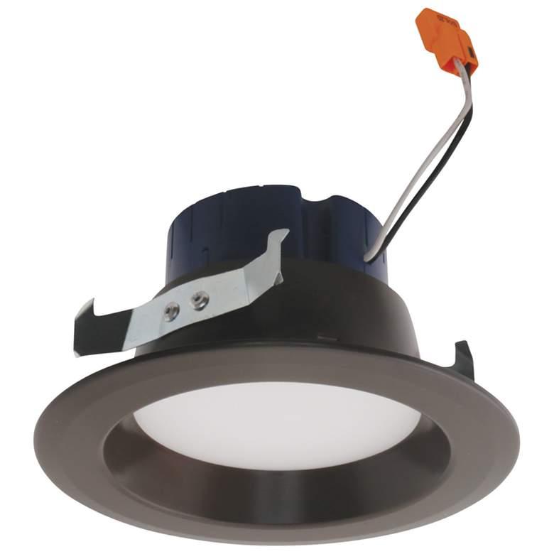 "Elco 4"" Bronze LED Reflector Insert Recessed Trim"