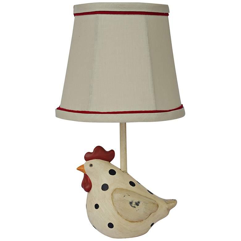 Big Fat Hen Polka Dot Accent Table Lamp