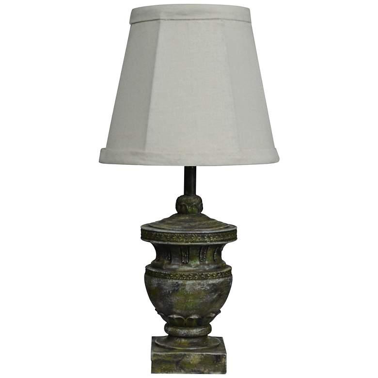 "Capri Classic 12"" High Small Accent Urn Table Lamp"
