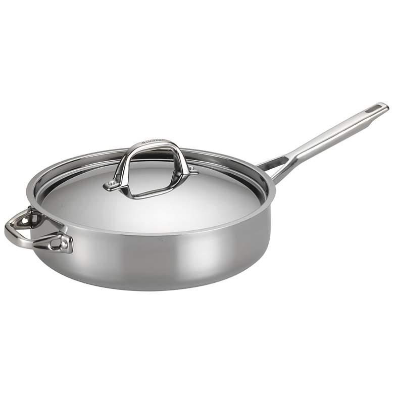 Anolon Tri-Ply Clad 5-Quart Covered Saute Pan