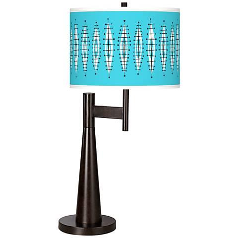 Vibraphonic Bounce Giclee Novo Table Lamp