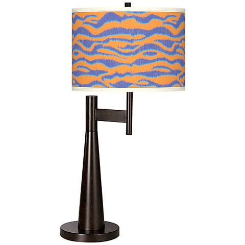 Sunset Stripes Giclee Novo Table Lamp