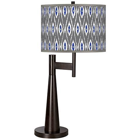 American Ikat Giclee Novo Table Lamp