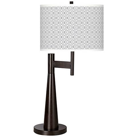 Diamonds Giclee Novo Table Lamp