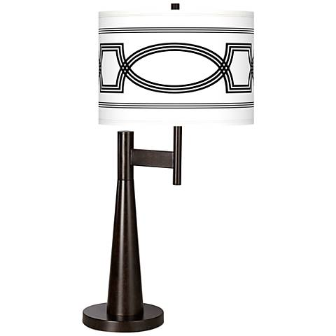 Concave Giclee Novo Table Lamp