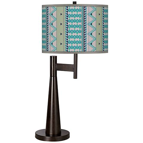 Geo Metrix Giclee Novo Table Lamp