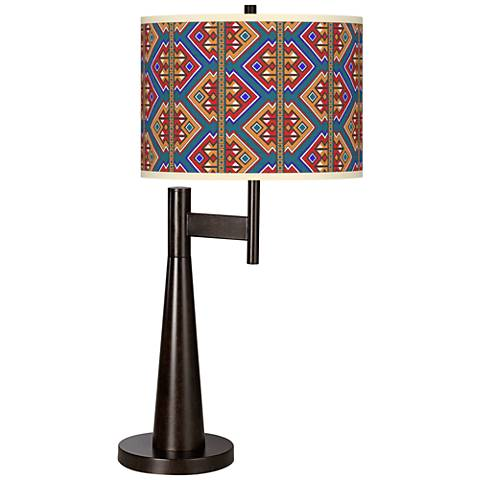 Rich Bohemian Giclee Novo Table Lamp