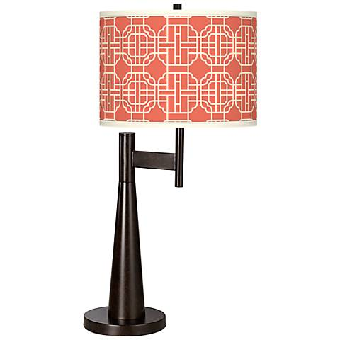 Mandarin Giclee Novo Table Lamp