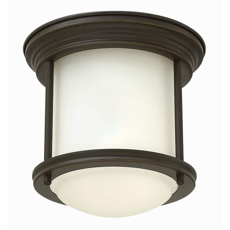 "Hinkley Hadley 7 3/4"" Wide Oil Rubbed Bronze Ceiling Light"