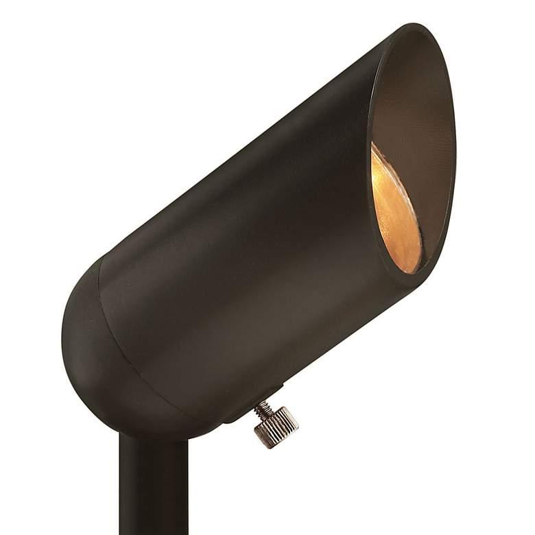 """Allen 3 1/4""""H Bronze 5W 3000K LED Landscape Accent Spotlight"""