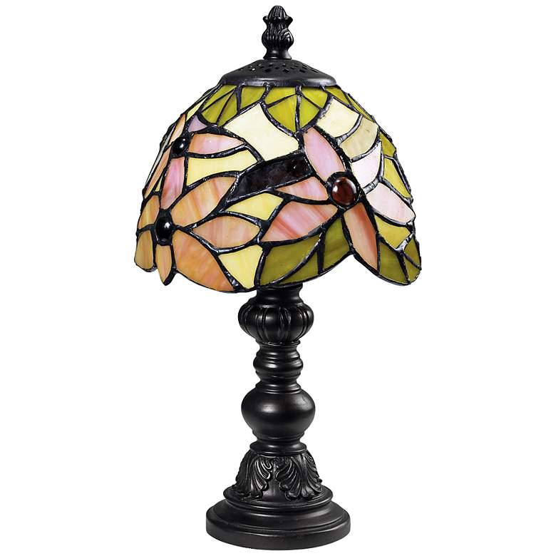 Blossom Mini Tiffany Style Accent Lamp