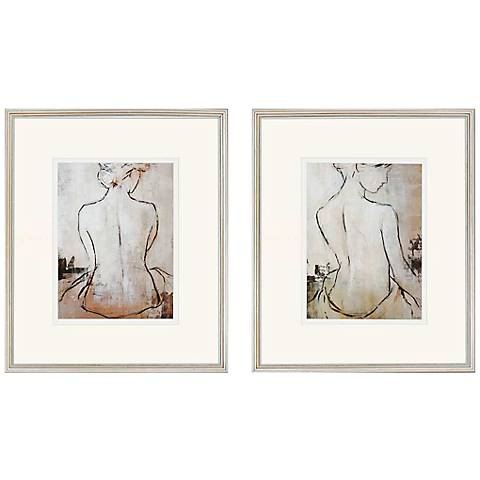 "Set of 2 Spa Day 27"" High Wall Art"