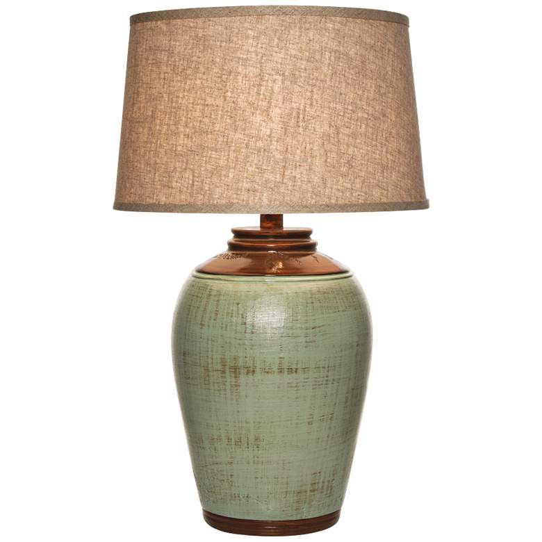 Kearny Celadon Green Table Lamp
