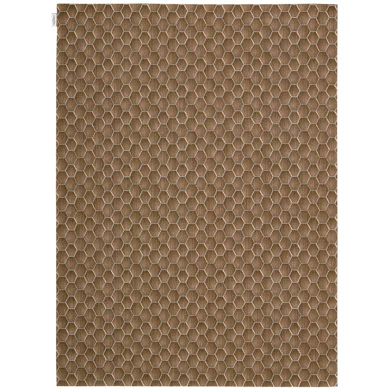 "Calvin Klein Loom Select LS16 5'3""x7'5"" Fawn Area Rug"