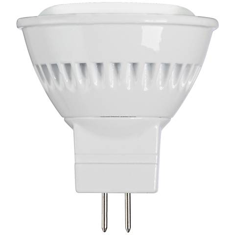 20W Equivalent Tesler Frosted 3W LED Non-Dimmable 2-Pin MR11