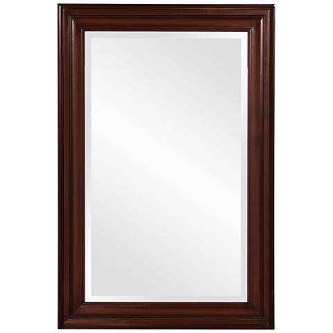 """Howard Elliott George Brown 24"""" x 36"""" Wall Mirror"""