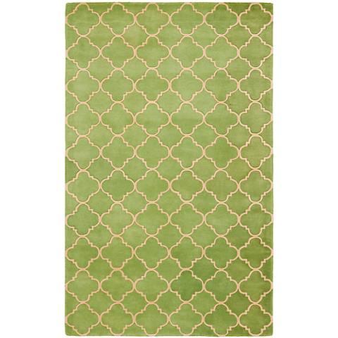 Safavieh Chatham CHT935B Green Wool Area Rug