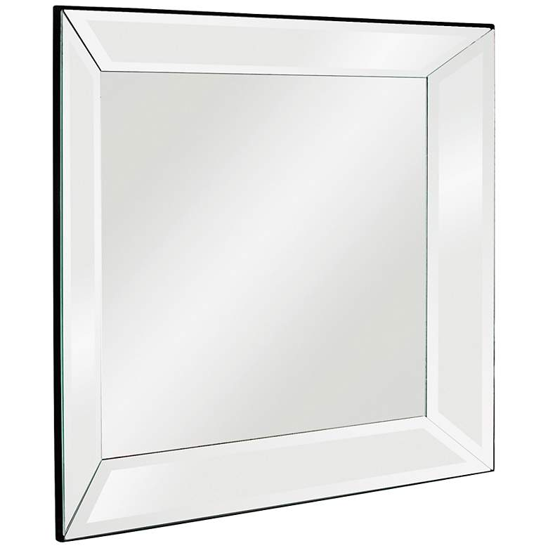 "Howard Elliott Vogue 30"" Square Modern Mirror"