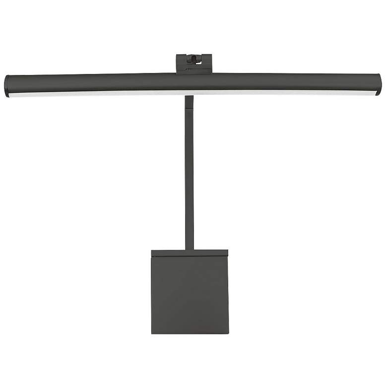 """WAC LEDme Vibe 15"""" Wide Black Direct Wire LED Picture Light"""