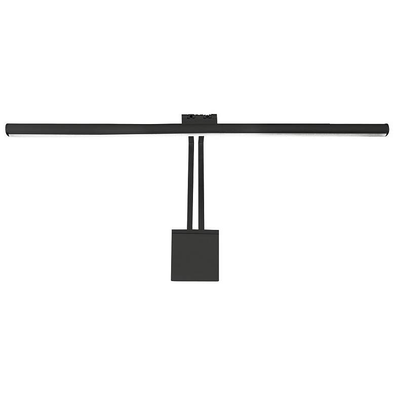"""WAC LEDme Vibe 25"""" Wide Black Direct Wire LED Picture Light"""