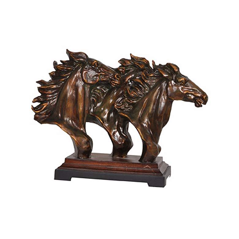 "Crestview Collection Running Free 23"" Wide Statue"