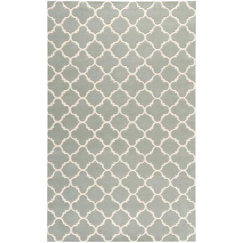 Safavieh Chatham CHT717E 5'x8' Grey/Ivory Wool Rug