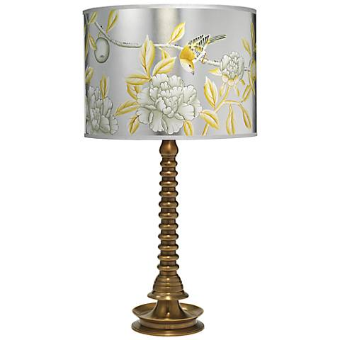 Jamie Young Ghee Collection Antique Brass Table Lamp