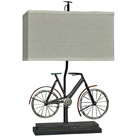 Crestview Collection Biking Rustic Bronze Table Lamp