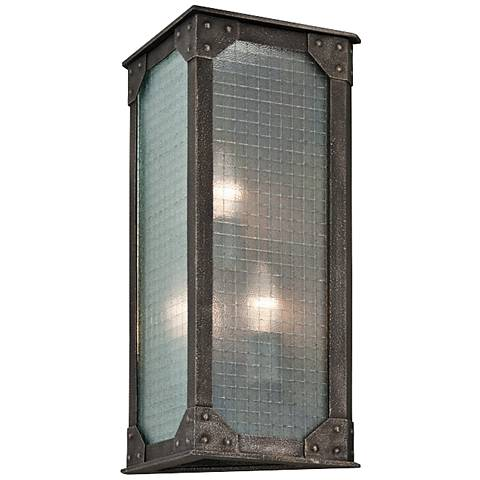 """Hoboken 18"""" High Indoor-Outdoor Wall Light"""