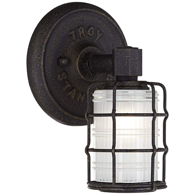 """Mercantile 8 3/4"""" High Vintage Bronze Wall Sconce"""