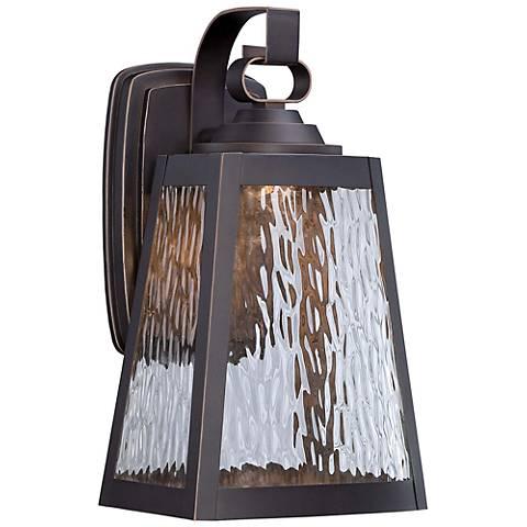 "Minka Talera 12 3/4"" High LED Bronze Outdoor Wall Light"
