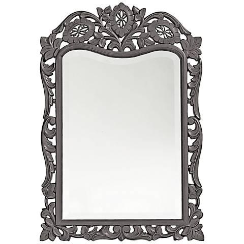 "Howard Elliott St. Agustine Gray 20"" x 29"" Wall Mirror"