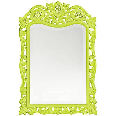 "Howard Elliott St. Agustine Green 20"" x 29"" Wall Mirror"
