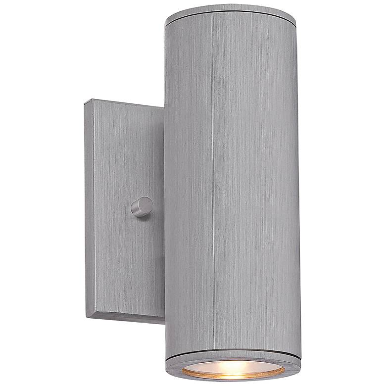 "Minka Skyline LED 7 3/4"" High Aluminum Outdoor Wall Light"