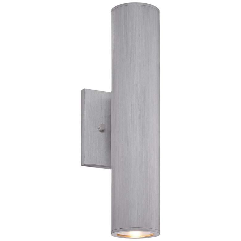 "Minka Skyline LED 14 1/2""H Aluminum Outdoor Wall Light"