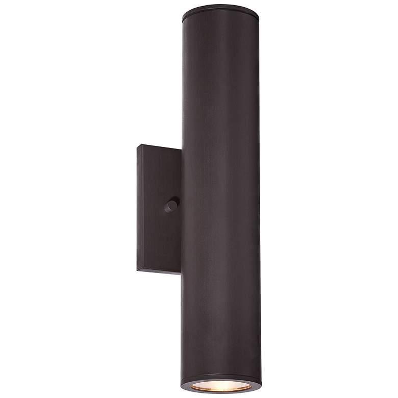 "Minka Skyline LED 14 1/2"" High Bronze Outdoor Wall Light"