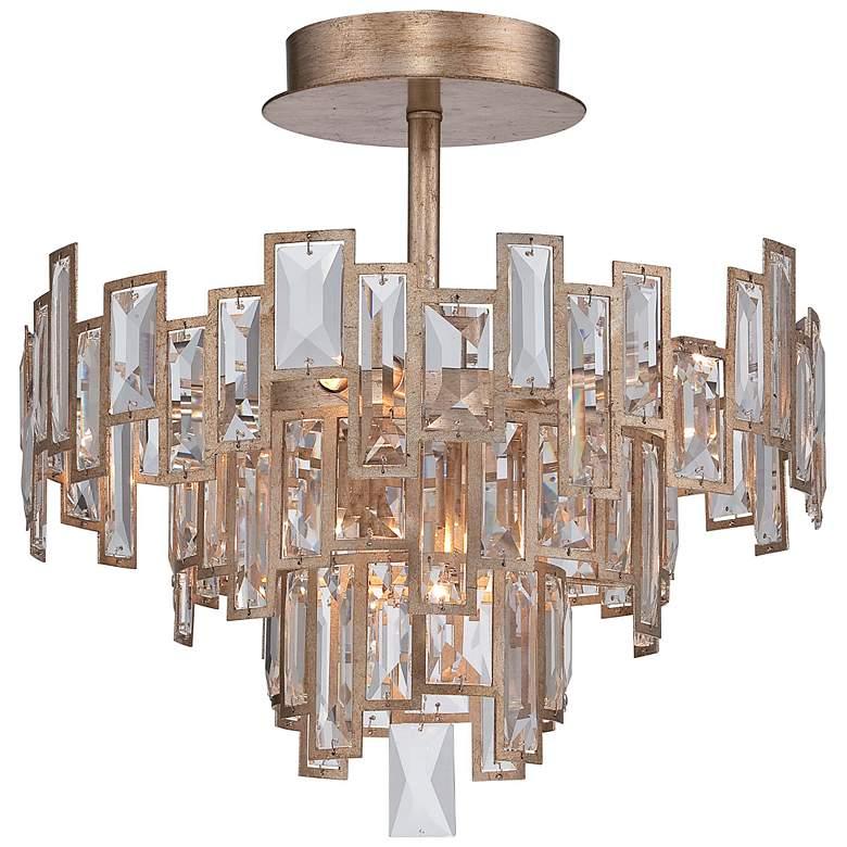 "Metropolitan Bel Mondo 18 1/2"" Wide Gold Ceiling Light"