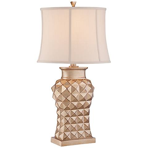 "Marlene 32"" High Gold Table Lamp by Regency Hill"