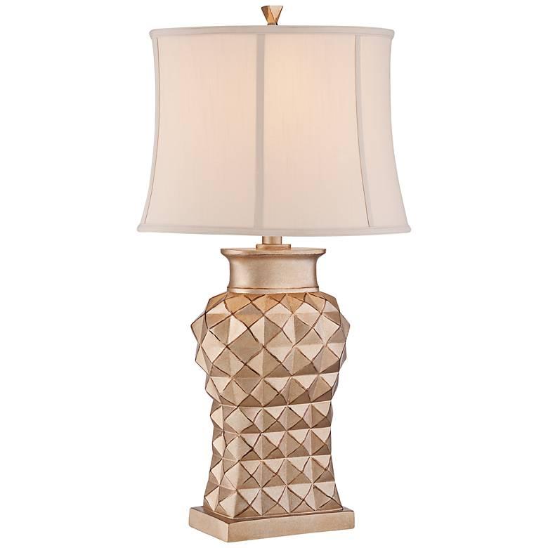 "Marlene 32"" High Gold Table Lamp by Regency Hill"