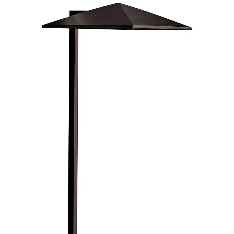 "Hinkley Harbor 21"" High Satin Black Landscape Path Light"