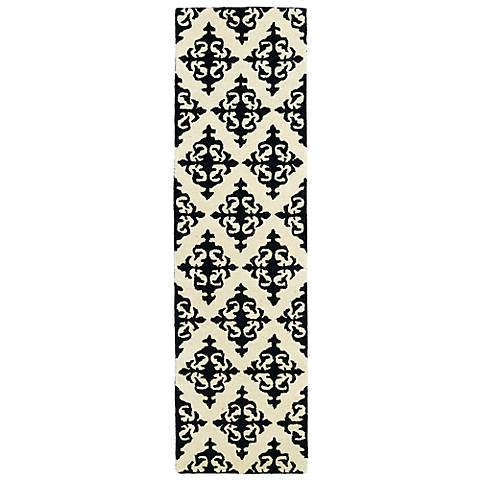 Kaleen Evolution EVL05-02 Black Wool Area Rug