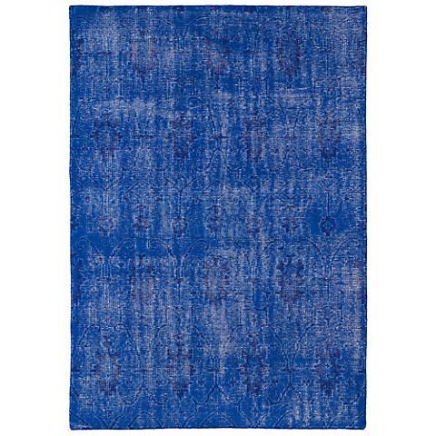 Kaleen Restoration RES01-17 Blue Wool Area Rug