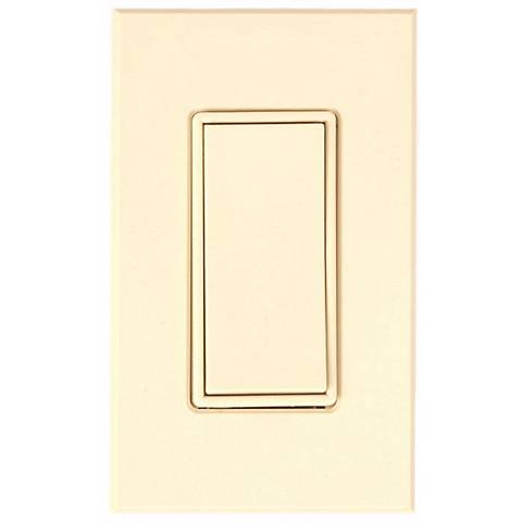 Leviton Decora Rocker Switch 3-Way- Ivory