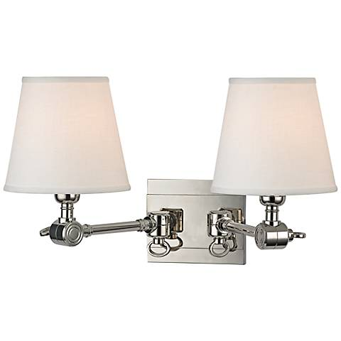 "Hudson Valley Hillsdale 18"" Wide Polished Wall Sconce"