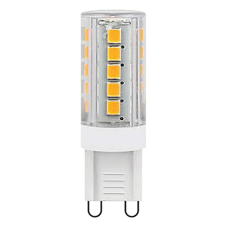 25 Watt Equivalent Tesler Frosted 2 Watt LED G-9 Base Bulb