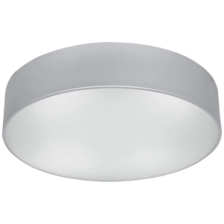 """TomTom 16 1/2"""" Wide Satin Frosted Glass LED Ceiling Light"""